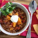 No Bean Sweet Potato Turkey Chili